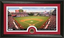 MLB Los Angeles Angels Infield Dirt Coin Panoramic Photo