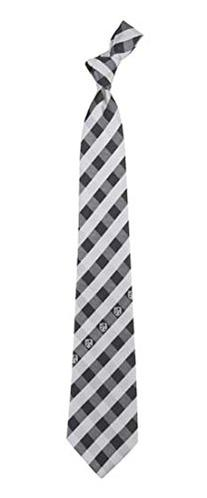 Los Angeles Kings Check Polyester Neck Tie NHL Hockey Team