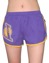 LOS ANGELES LAKERS Womens Running / Athletic Shorts M