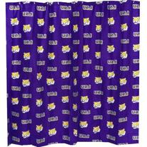 """Louisiana State Tigers Printed Shower Curtain Cover - 70"""" X"""