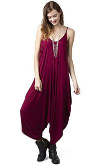 Love in Harlem Jumpsuit,Burgundy,Small