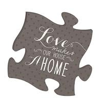Love Makes Our House a Home 12 x 12 Inspirational Puzzle