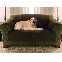 Yes Pets Love Seat Size Quilted Micro Suede Furniture
