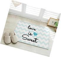 Love Is Sweet Door Mat Kitchen Bathroom Mat Carpet Bath Mats