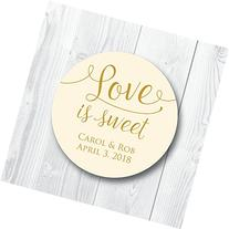 Love is Sweet Wedding Stickers