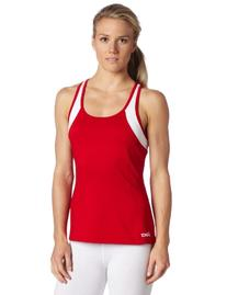 Asics Women's Love Tank, Red/White, X-Small