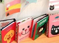 Buytra 5 Pieces Lovely Cartoon Kitty Cat Sticker Bookmark