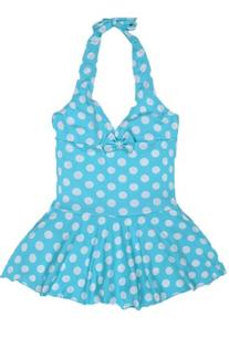 Wantdo Girl's Lovely One Piece Swimsuit Children Swimwear UV