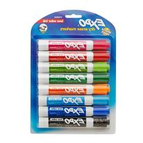EXPO 1743032  Low-Odor Dry Erase Markers, Chisel Tip,