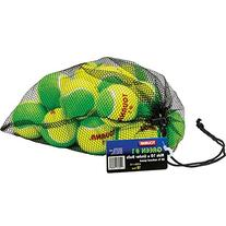 Tourna Low Compression Stage 1 Tennis Ball - 18 Pack Mesh