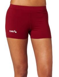 ASICS Women's Low Cut Short, Cardinal, XX-Small