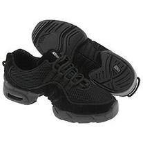 Adult Black Low Top Dance Sneaker Jazz Shoes, Size 8, Black