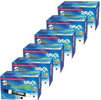 Expo 2 Low-Odor Dry Erase Markers, Chisel Tip, 12-Pack,