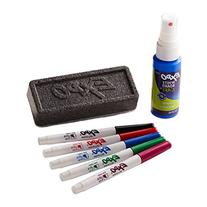 EXPO Low-Odor Dry Erase Set, Ultra Fine Tip, Assorted Colors