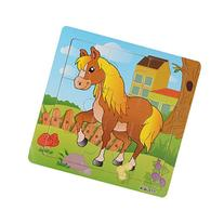 Lowpricenice Wooden Horse Jigsaw Toys For Kids Education And