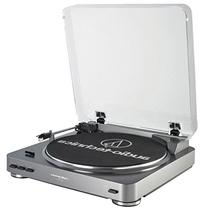 Audio-Technica AT-LP60-USB LP-to-Digital Record CD Turntable