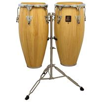 LP LPA646 Aspire Conga Set with Double Stand Natural