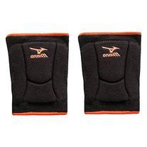 Mizuno LR6 Highlighter Kneepad, Black/Blazing Orange -