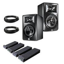 JBL LSR305 5-inch Two-Way Powered Studio Monitors  w/