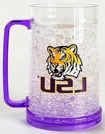 LSU Tigers Crystal Freezer Mug