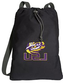 LSU Tigers Drawstring Backpack RICH CANVAS LSU Cinch Bag