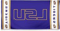 NCAA LSU Tigers Fiber Reactive Beach Towel