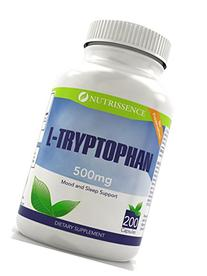 L-Tryptophan 500mg 200 Capsules - Nutrissence