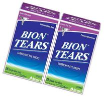 Bion Tears Lubricant Eye Drops-0.015 oz, 28 ct Single Use
