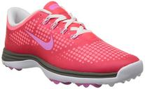 Nike Golf women's Lunar Empress Golf Shoe,Laser Crimson/Red/