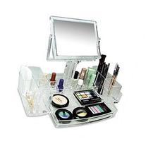 Ikee Design Luxury Cosmetic Makeup Acrylic Organizer With