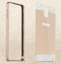 ® Luxury Aluminum Ultra-thin Metal Bling Diamond Case Cover