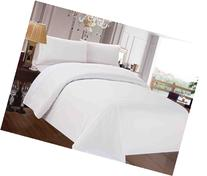 Red Nomad® Luxury 3 Piece Bed Sheet Set, Deep Pocket, Twin