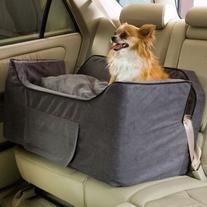 Snoozer Large Luxury Lookout Ii Pet Car Seat, Anthracite/