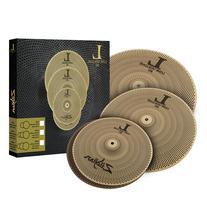 "Zildjian LV468 L80 Low Volume 3-Piece Box Set - 14"" Hat, 16"