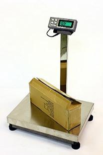 LW Measurements 500 LB x 0.1 LB 24 x 18 INCH DIGITAL SCALE