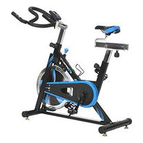 Exerpeutic LX7 Indoor Cycling Exercise Bike with Computer