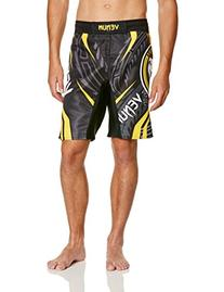 "Venum Lyoto Machida ""Ryujin"" Fightshorts, Black/Yellow,"