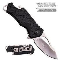 MTech USA MT-A882CH Spring Assist Folding Knife, Silver