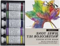 M. Graham Tube Watercolor Paint Jewel Tone 5-Color Set, 1/2-