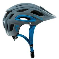 7iDP M2 Helmet, Primer Grey/Neon Blue, Medium/Large