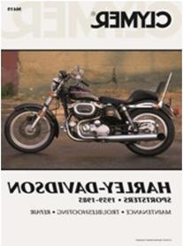 Clymer M419 1959-1985 Harley Davidson Sportsters Manual H-D