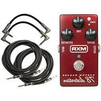 MXR M78 Custom Badass '78 Distortion Pedal w/4 Free Cables