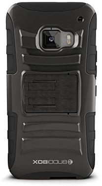 HTC One M9 Case, BUDDIBOX  Heavy Duty Swivel Belt Clip