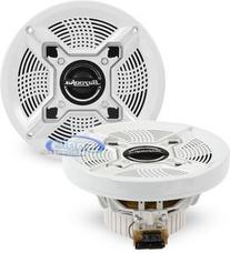 Bazooka MAC6510W  6.5-Inch Marine Coaxial Speaker - Set of