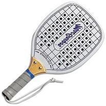 MacGregor Collegiate Paddleball, Budget Wood Racket w/ Holes
