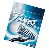 Gillette MACH3 Turbo Cartridges 8 ea