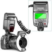 Neewer® Macro TTL Ring Flash Light with AF Assist Lamp for