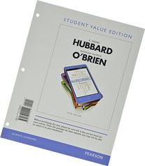 Macroeconomics, Student Value Edition Plus NEW MyEconLab