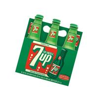 7UP Made with Sugar, 12 fl oz, 6 pack