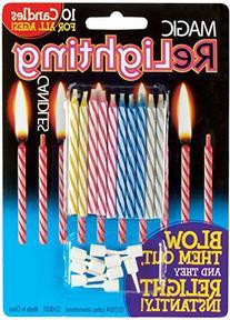 Loftus Magic Trick Relighting Birthday Candles